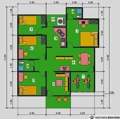 17 Best Denah Lantai Rumah Images Hotel Floor Plan Floor Plans