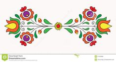Folk clip art images and royalty free illustrations available to search from thousands of EPS vector clipart and stock art producers. Local Embroidery, Hungarian Embroidery, Types Of Embroidery, Folk Embroidery, Learn Embroidery, Embroidery For Beginners, Embroidery Techniques, Embroidery Patterns, Machine Embroidery