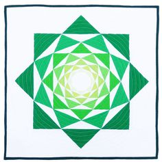 The Artichoke mini quilt/block pattern by Flying Parrot Quilts - with two setting options!