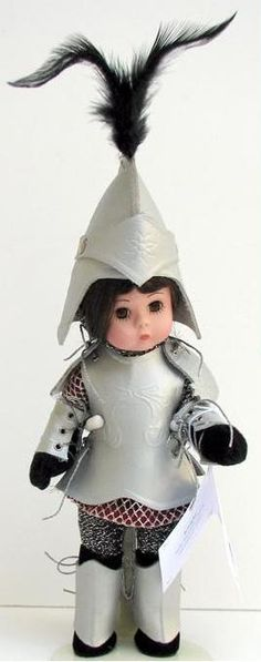 "Madame Alexander, Alice in Wonderland, 8"" Knight 25915"