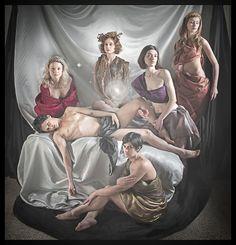 """""""DEPOSIZIONE..."""" from Caravaggio photo by Giovanni Cozzi moodels Adele Ceraudo & frends"""
