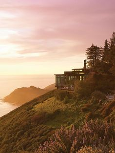 Post Ranch Inn in Big Sur, California.