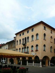 Piazza delle Erbe a Belluno - Dolomites, province of Belluno, Veneto, Northern Italy