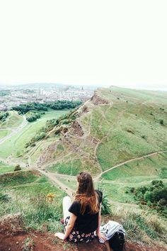 Hiking Arthur's Seat: An Extinct Volcano & Medieval Ruins Hiking Arthur's Seat Climbing an Extinct Volcano in Edinburgh, Scotland Scotland Travel, Ireland Travel, Scotland Vacation, Scotland Trip, Galway Ireland, Cork Ireland, Ireland Vacation, Edinburgh City, Edinburgh Scotland