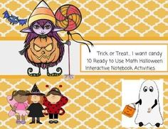 There are 10 Halloween Candy Math Activities.  Number Mats.  Sort by Color.  Patterns.  How Many Pieces of Candy?.  Shapes.  Adding Up Candy.  Writing Numbers