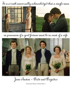 Pride And Prejudice... one of the best lines ever... too funny.