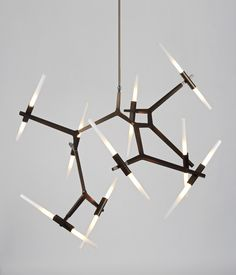 Agnes Chandelier 20 Bulbs -  LET'S STAY: Cool Lighting Fixtures from Roll & Hill