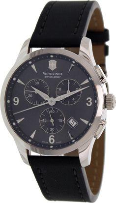 Victorinox Swiss Army Alliance Chronograph Black Strap Mens Watch 241479