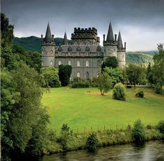 """Inveraray Castle"" - ""Campbell Clan"" Scotland , U. Castles In Ireland, Scotland Castles, Scottish Castles, Scotland Uk, Scotland Travel, Scotland History, Highlands Scotland, Edinburgh Scotland, Scottish Highlands"