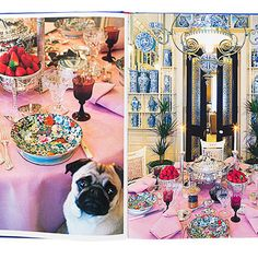Valentino's London Dining Room