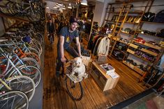 editor's note: When I was in San Francisco November 2011 I discovered the bike shop of my dreams. As I walked in I realized that not only was this the kind of shop that I would love, but that…