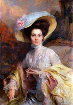 Portrait de la princesse Cécilie de Prusse en 1908 par Philip Alexius de Laszlo