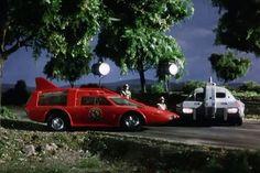 As Thunderbirds celebrates its anniversary, CAR magazine counts its Top 10 Gerry Anderson vehicles Turner Classic Movies, Classic Tv, Joe 90, Irwin Allen, Plymouth Superbird, Thunderbirds Are Go, Sci Fi Tv Shows, Garage Art, Retro Futuristic