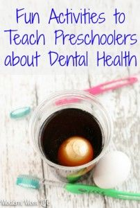 Teaching Preschoolers Dental Health