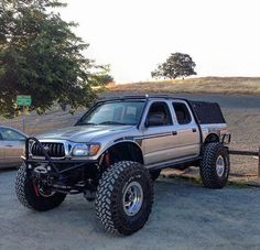 """Lifted Trucks Bigger Than Godzilla, They Are Cooler Than You Thought! If you' were to define the phrase """"truck"""" in one word, what might it be? Toyota Tacoma 4x4, Tacoma Truck, Toyota Hilux, Toyota Tundra, Jeep Truck, Toyota Trucks, 4x4 Trucks, Lifted Trucks, Chevy Trucks"""