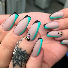 Examples Of Beautiful Long Nails To Inspire You - Best Long Nail Designs for Glamorous Girls ★ See more: naildesignsjourna… - Fabulous Nails, Gorgeous Nails, Love Nails, Pretty Nails, My Nails, Perfect Nails, Nail Swag, Long Nail Designs, Nail Art Designs