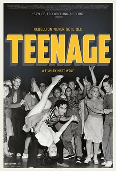 "With narration by actors Jena Malone, Ben Whishaw, Julia Hummer and Jessie Usher, filmmaker Matt Wolf explores the origins of the modern-day ""teenager"" -- a demographic that didn't even exist until the century. New Movies, Movies Online, Family Movies, Savage, Teenage Movie, Film 2014, Jena Malone, Wolf, Diary Entry"