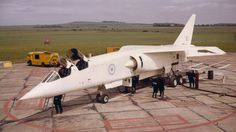 The British Aircraft Corporation was a cancelled Cold War strike and reconnaissance aircraft developed by the British Aircraft Corporation (BAC) for th. Military Jets, Military Aircraft, Blackburn Buccaneer, Aviation Technology, Aviation Art, Experimental Aircraft, Airline Travel, Royal Air Force, Fighter Jets