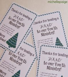 michelle paige: Youth Ministry and Children's Ministry Gift for Christmas