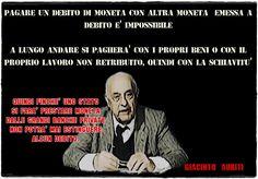 #DebitoPubblico #Truffa #Auriti #moneta
