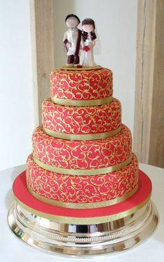 1000 Images About Walima Wedding Cakes On Pinterest