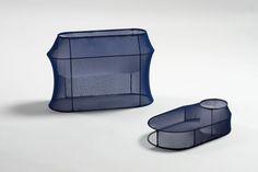 Net Tabletop Storage by Linn Kandel Cabinet Shelving, Shelving Racks, Cabinet Furniture, Furniture Design, Rack Design, Design Language, Industrial Design, Lighting Design, Style Guides