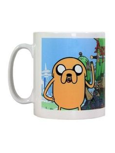 Pyramid intl - Mug Adventure Time - Jake & Finn - 5050574221412 @ niftywarehouse.com #NiftyWarehouse #AdventureTime #TVShow #Cartoon #Show #CartoonNetwork