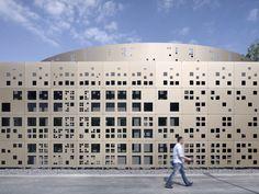 Novo edifício de laboratório para obras de drenagem municipais / KSG Architekten | ArchDaily Brasil