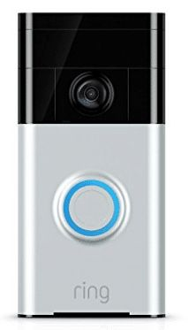 Ring Wi-Fi Enabled Video Doorbell in Satin Nickel, Works with Alexa Smart Home Security, Home Security Systems, Smart Home Design, Doorbell Chime, Ring Video Doorbell, Smart Home Technology, Technology Gadgets, Shopping, Sports