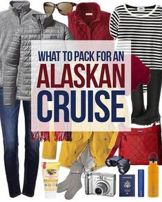 Wondering what to pack for a cruise? A cruise packing checklist will make your travel planning effortless. Before you step on board a cruise ship, there are some details that you need to take care of. First you need to determine your cruise itinerary. Packing For Alaska, Alaska Cruise Tips, Packing List For Cruise, Alaska Travel, Cruise Travel, Cruise Vacation, Disney Cruise, Alaska Trip, Vacation Ideas