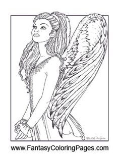 Do You Long Tooexperience The Angelic These 16 Coloring Pages May Not Get To