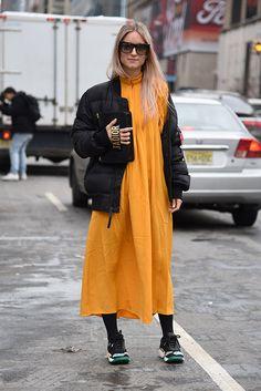 Charlotte Groeneveld at New York Fashion Week