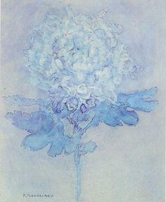 Piet Mondrian, Chrysanthemum blue