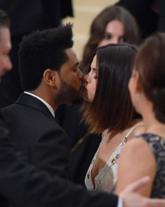 May 1st, 2017: Abel Tesfaye (The Weeknd) and Selena Gomez at the 2017 Met Gala