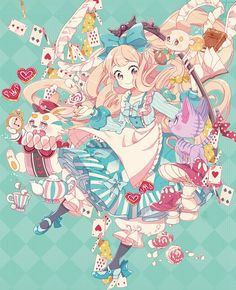 Best drawing disney alice in wonderland anime art Ideas Anime Chibi, Art Anime, Anime Kunst, Manga Anime, Manga Kawaii, Loli Kawaii, Kawaii Art, Kawaii Anime Girl, Disney Kunst