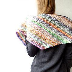 Frieze Shawl by maliha knits