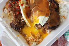 Loco Moco - Hawaii's Most Sloppy and Comforting Delicacy Now this is a loco moco.