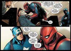 Spider-Man reveals that Al Gore is the Chameleon in Amazing Spider-Man #683
