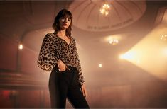 Opening Ceremony - The 'W' Edit by Witchery Metallic Top, Hem Jeans, Velvet Blazer, Animal Print Dresses, Leather Mini Skirts, Suede Pumps, Opening Ceremony, Printed Blouse, Wide Leg Pants