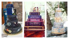 13 Nerdy Wedding Cakes for the Most Epic Reception Ever #wedding #nerd #OMGINEEDANERDYWEDDING
