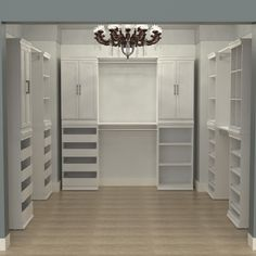 The organizational options are endless! How would you arrange your Modular Closet? #DIY #ClosetDesign #HomeOrganization Modular Closets, Home Organization, Diy Closet, Modular, Bedroom Closet Design, Home Decor, Closet Designs, Closet Layout, Closetmaid