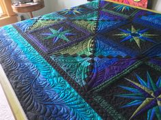 MoonGlow with quilting.