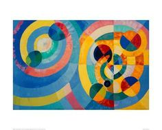 Circle Forms, 1930 Giclee Print by Robert Delaunay - AllPosters.co.uk