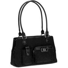 George - Women's Jacquard Mid Satchel Bag. Like it ok.