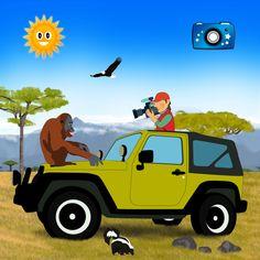Safari around the world!