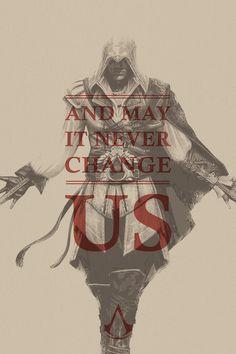 Assassin's Creed Quote Poster: Ezio (AC2)