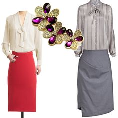 Anne Shirley at Work, created by foreveryoungadult on Polyvore