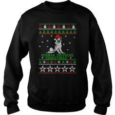 Christmas sweater for German Shepherd lover shirt