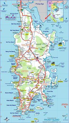 plan de Phuket