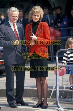 "April 18 1989 Diana, Patron, British Lung Foundation, attends the National Launch of ""Bike 89"" in Hyde Park"